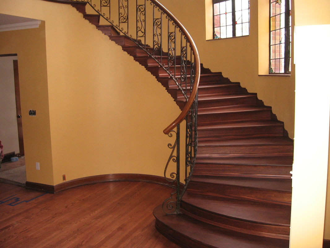 Stair Cases Custom Hardwood Floors By Jeffries